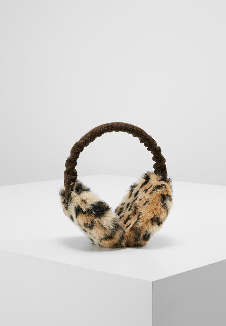 Barts - PLUSH EARMUFFS - Čelenka - animal