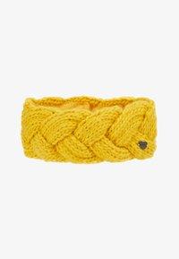 Barts - JACKIE HEADBAND - Ørevarmere - yellow - 3
