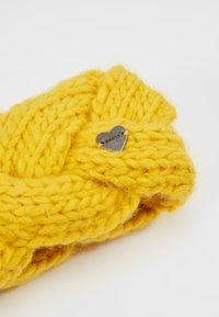 Barts - JACKIE HEADBAND - Ørevarmere - yellow - 4