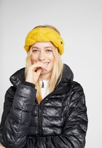 Barts - JACKIE HEADBAND - Ørevarmere - yellow - 1