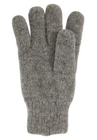 Barts - HAAKON GLOVES - Rękawiczki pięciopalcowe - heather grey - 2
