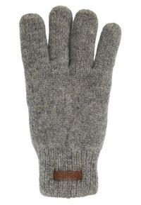 Barts - HAAKON GLOVES - Rękawiczki pięciopalcowe - heather grey - 1