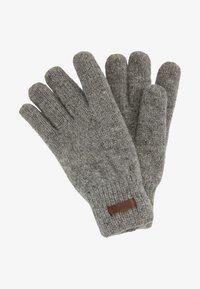 Barts - HAAKON GLOVES - Rękawiczki pięciopalcowe - heather grey - 0