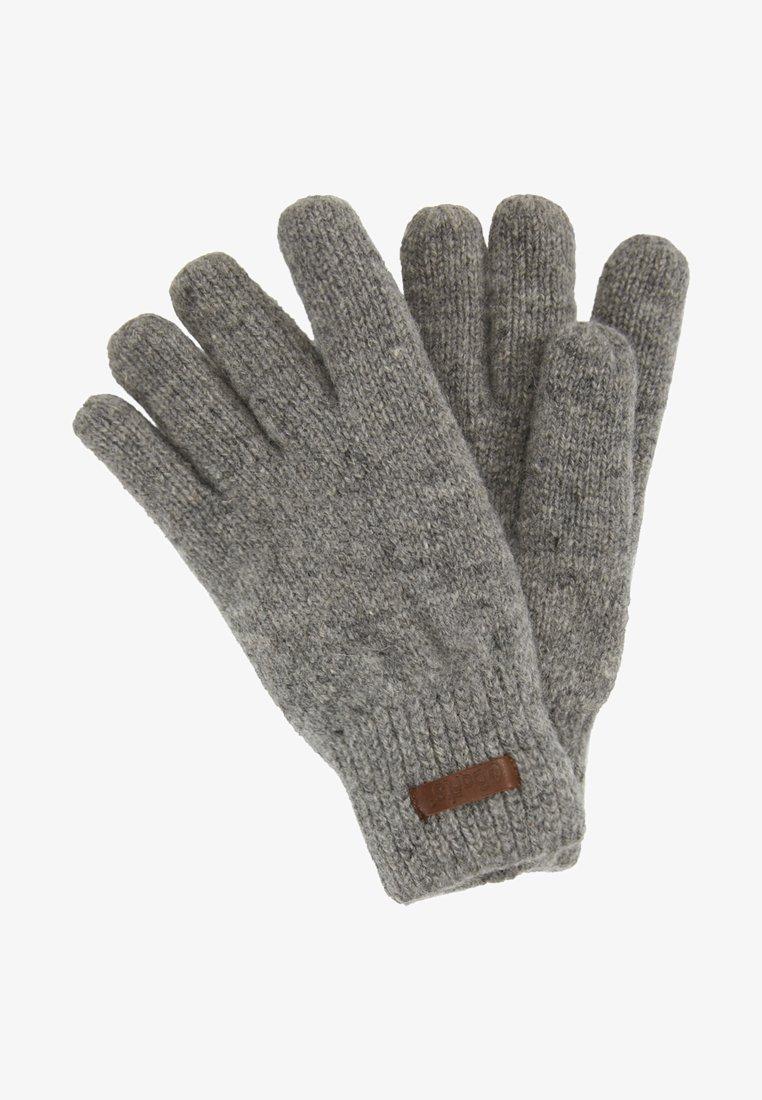 Barts - HAAKON GLOVES - Rękawiczki pięciopalcowe - heather grey
