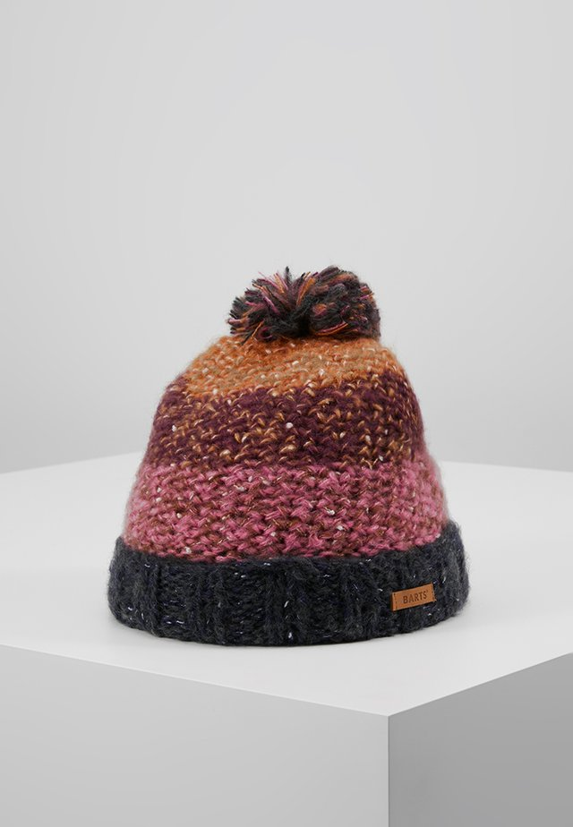 AZALEA BEANIE - Lue - dark heather