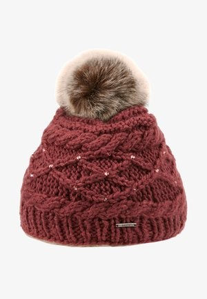 CLAIRE BEANIE GIRLS - Pipo - maroon