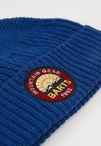 Barts - BARTRAM BEANIE - Berretto - dark blue - 3