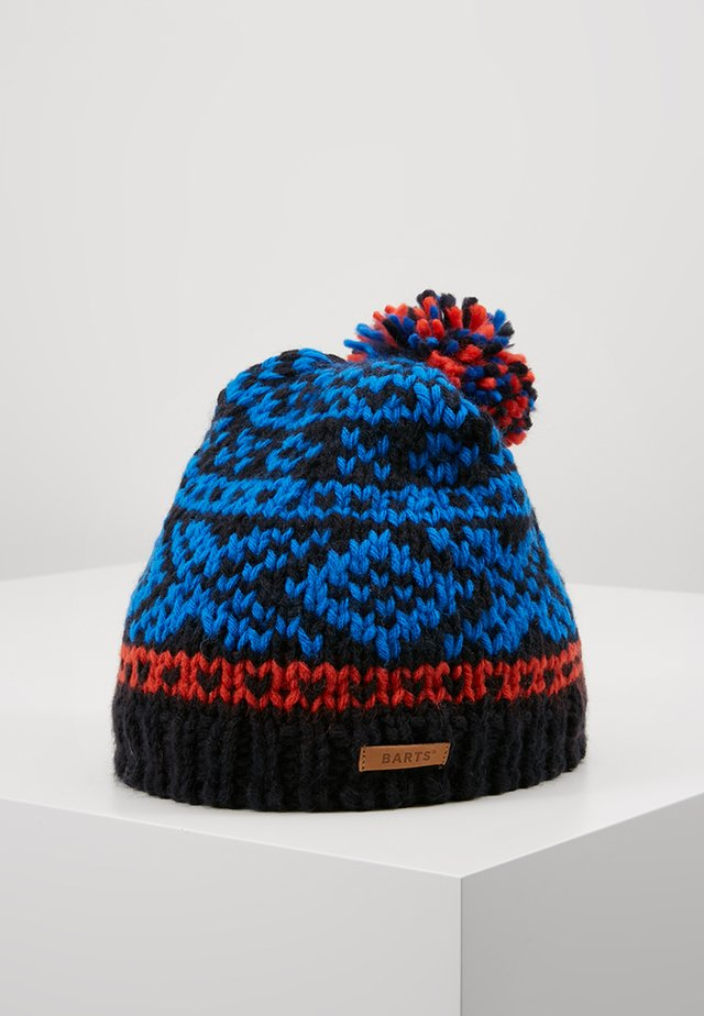 LOG CABIN BEANIE KIDS - Lue - navy