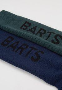 Barts - BASIC 2 PACK - Träningssockor - navy/bottle green - 2