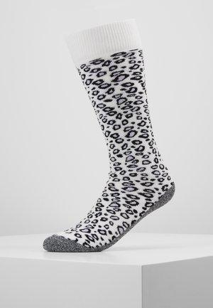 SKISOCK ANIMAL PRINT - Chaussettes de sport - white