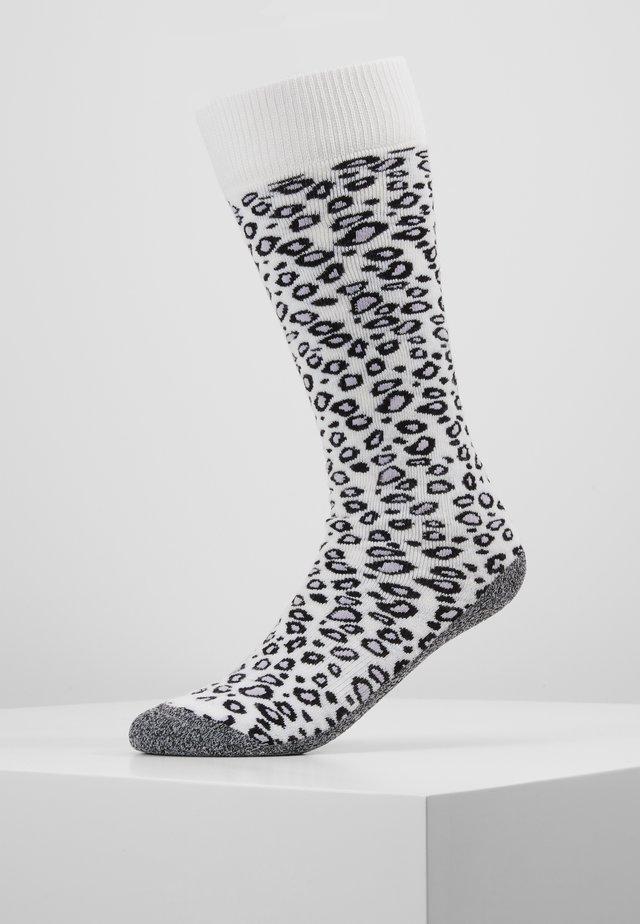 SKISOCK ANIMAL PRINT - Sports socks - white