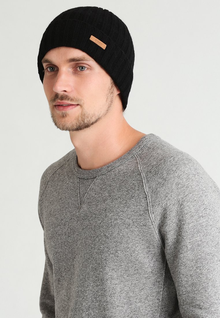 Barts - HAAKON TURNUP - Mütze - black