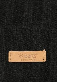 Barts - HAAKON TURNUP - Mütze - black - 6