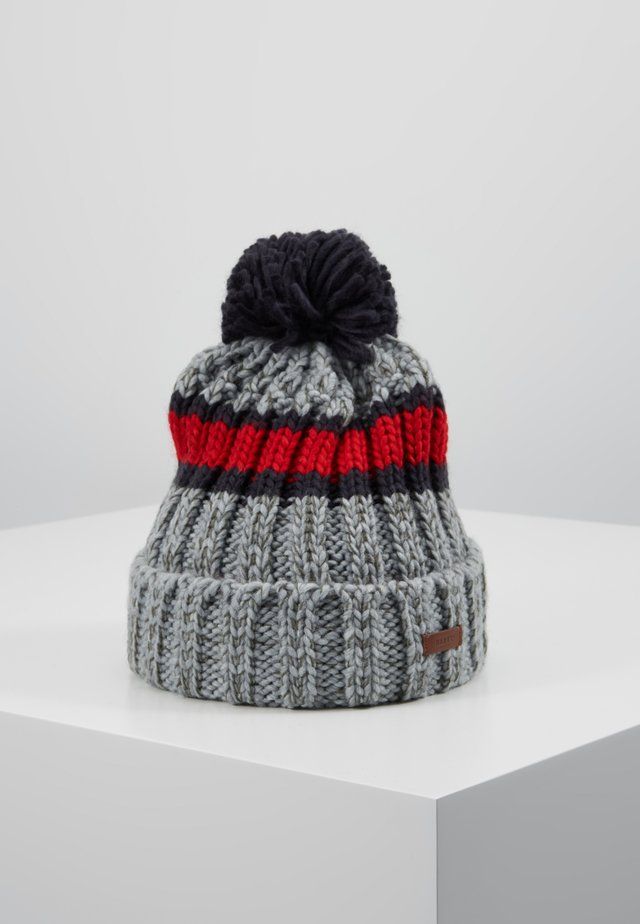 DARRIN BEANIE - Bonnet - heather grey