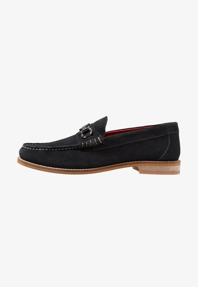 CARRIAGE - Slip-ons - navy