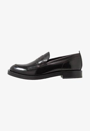 FULTON - Elegantní nazouvací boty - hi shine black
