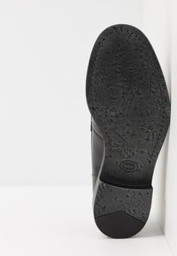 Base London - FULTON - Elegantní nazouvací boty - hi shine black - 4