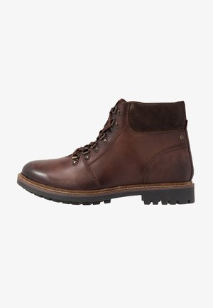 FAWN - Lace-up ankle boots - burnished brown