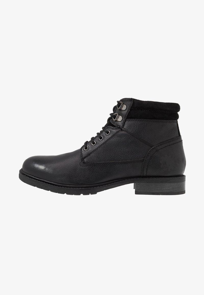 Base London - TREK - Lace-up ankle boots - black