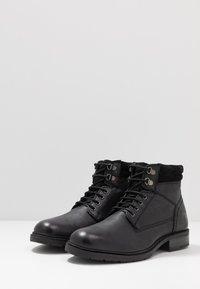 Base London - TREK - Lace-up ankle boots - black - 2