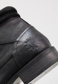 Base London - TREK - Lace-up ankle boots - black - 5