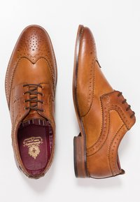 Base London - MOTIF - Smart lace-ups - washed tan - 1