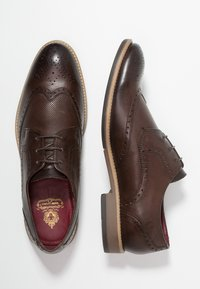Base London - HEWITT - Derbies & Richelieus - burnished brown - 1