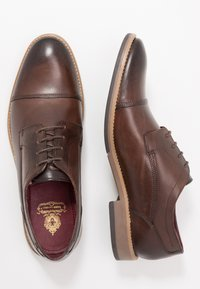 Base London - THORPE - Schnürer - burnished brown - 1