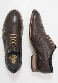 Base London - KITCHIN - Lace-ups - softy brown - 1