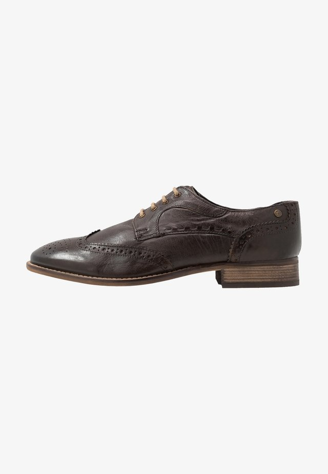 KITCHIN - Lace-ups - softy brown