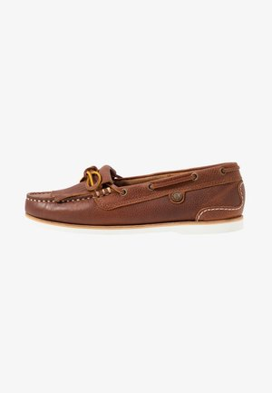 ELLEN BOAT SHOE - Boat shoes - cognac