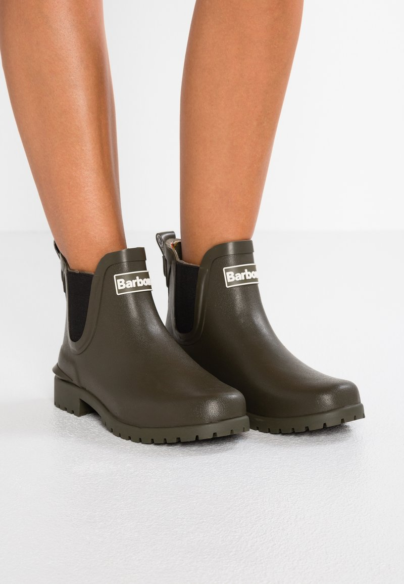 Barbour - WILTON - Wellies - olive