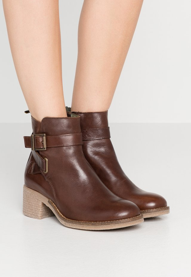 KEAVY - Classic ankle boots - brown