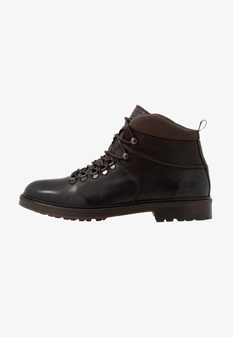 Barbour - AFFRIC - Lace-up ankle boots - dark brown