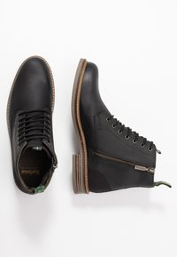 Barbour - SEAHAM LACE UP - Lace-up ankle boots - black - 1