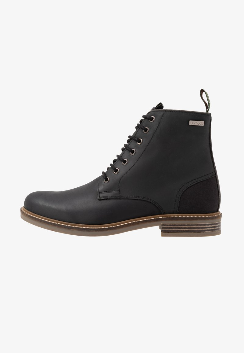 Barbour - SEAHAM LACE UP - Lace-up ankle boots - black
