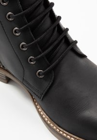 Barbour - SEAHAM LACE UP - Lace-up ankle boots - black - 5
