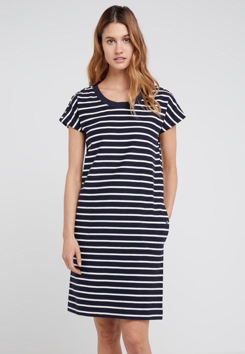 Barbour - BARBOUR SAILBOAT DRESS - Korte jurk - navy/white