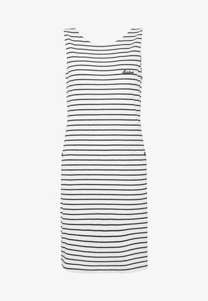 DALMORE STRIPE DRESS - Sukienka etui - white/navy