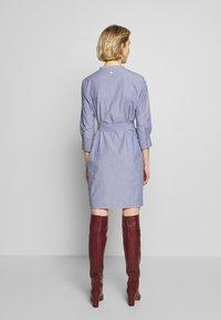 Barbour - LUCIE DRESS - Shirt dress - navy/white - 2