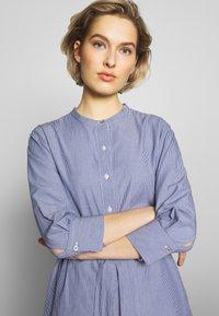 Barbour - LUCIE DRESS - Shirt dress - navy/white - 3