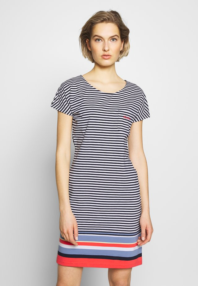 HAREWOOD DRESS - Sukienka etui - navy