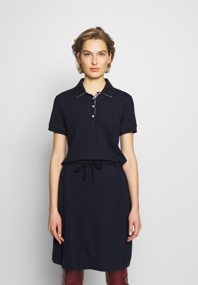 BARBOUR PORTSDOWN DRESS - Shirt dress - navy