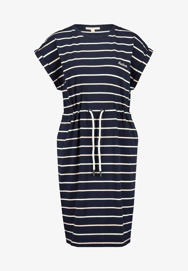 MARLOES  - Jersey dress - marine