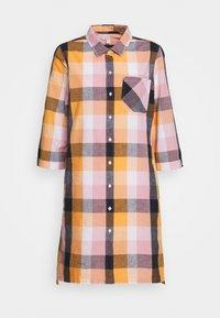 Barbour - SEAGLOW DRESS - Shirt dress - blue/sunstone orange - 6