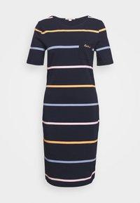Barbour - STOKEHOLD DRESS - Žerzejové šaty - navy - 0