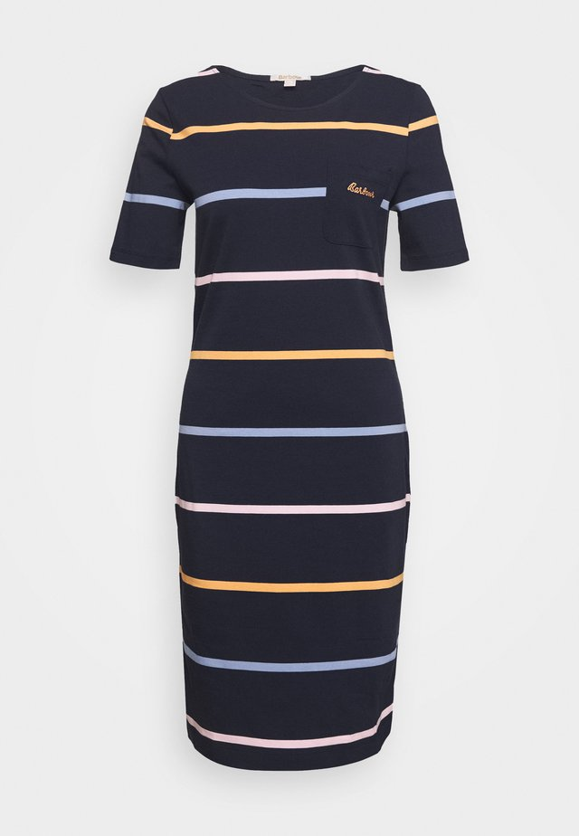 STOKEHOLD DRESS - Jerseyjurk - navy