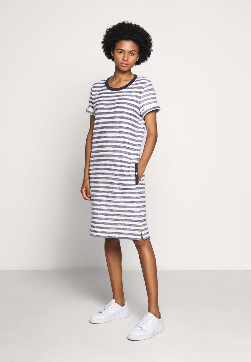 Barbour - NEWHAVEN DRESS - Denní šaty - chambray