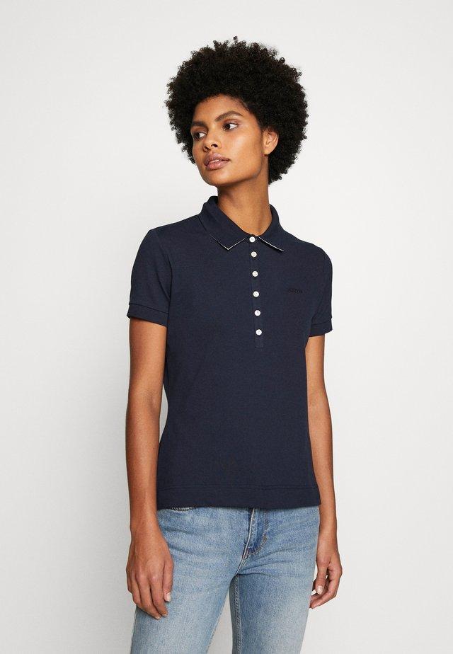 Polo shirt - navy/platinum