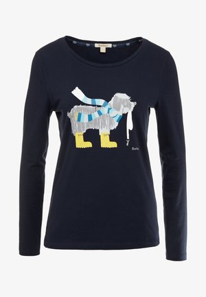 OYSTER TEE - Long sleeved top - navy